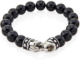 Jean Claude Onyx Beaded Bracelet
