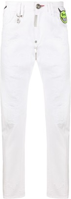Philipp Plein Evil Smile jeans
