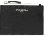 Balenciaga Ligne Creased-Leather Cardholder
