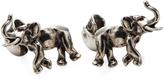 Alexander McQueen Men's Gemelli Skull & Elephant Cufflinks