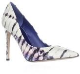 Le Silla Decollete Pointed Toe Heels, Blue Purple Multi.