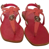 Marc Jacobs Pink Leather Sandals