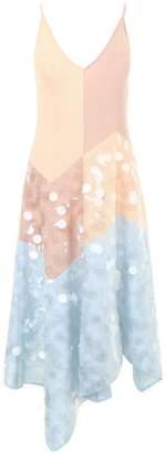 Bottega Veneta Asymmetric Sequin Detail Dress