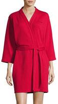 Calvin Klein Short Textured Robe