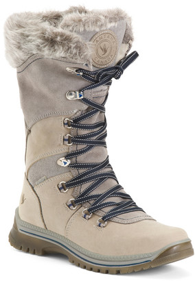 Made In Italy Insulated Waterproof Leather Boots