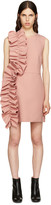 MSGM Pink Ruffle Dress