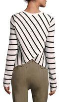 A.L.C. Tula Stripe Cashmere Sweater