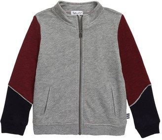 Splendid Colorblock Zip Jacket (Toddler Boys)