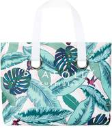 Seafolly Palm Beach Eyelet Tote Bag, Green, One Size