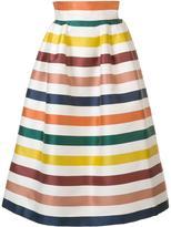 Carolina Herrera striped full skirt
