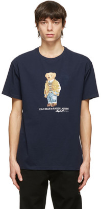 Polo Ralph Lauren Navy Polo Bear T-Shirt