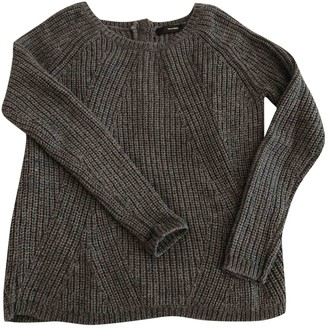 Hallhuber Anthracite Wool Knitwear for Women