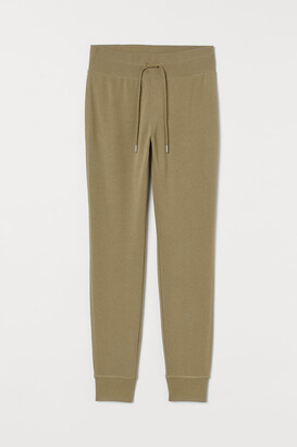 H&M Cotton-blend Joggers - Green