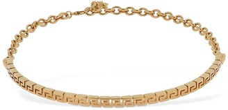 Versace Greek Motif Choker Necklace