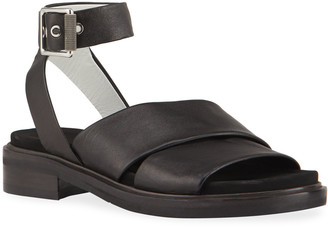 Rag & Bone Slayton Leather Ankle-Strap Sandals