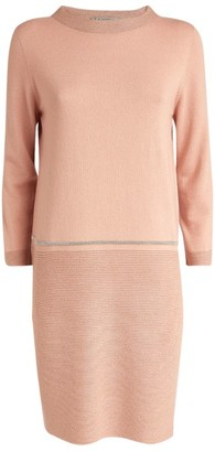 D-Exterior D.Exterior Contrast Sweater Dress