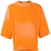 MSGM three-quarters sleeve sweatshirt - men - Cotton - S