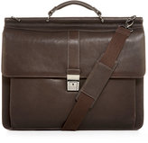 Kenneth Cole Reaction Leather Columbian Dowel Rod Laptop Briefcase