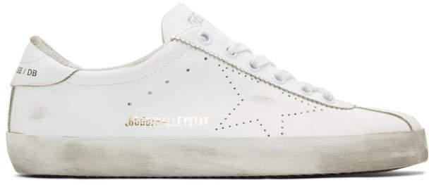 Golden Goose White Halleystar Sneakers