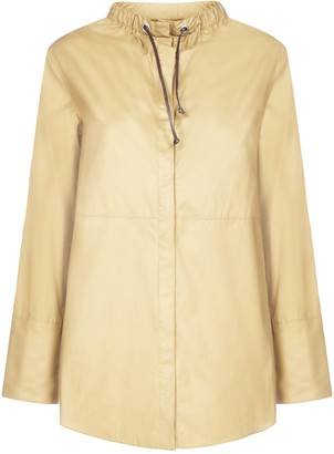 'S Max Mara Gathered Neckline Tunic