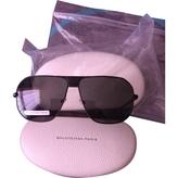 Balenciaga Black Sunglasses
