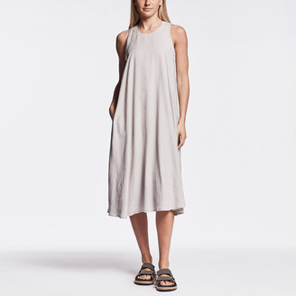 James Perse Sueded Cut-Away Tank Dress
