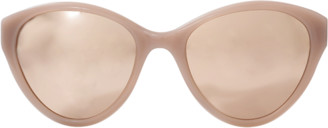 Linda Farrow Dusty Cateye Sunglasses