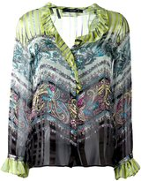 Etro paisley print shirt - women - Silk - 44
