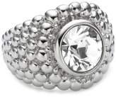 Dyrberg/Kern 332132 Erta Ii Brass Swarovski Crystal Ring Size O