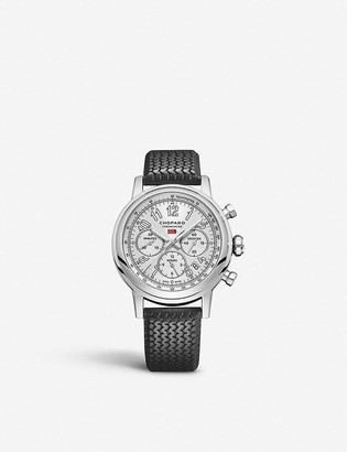 Chopard Mille Miglia Classic Chronograph stainless steel and leather watch