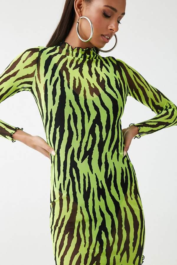 9edcda436981c0 Forever 21 Green Knit Dresses - ShopStyle Canada