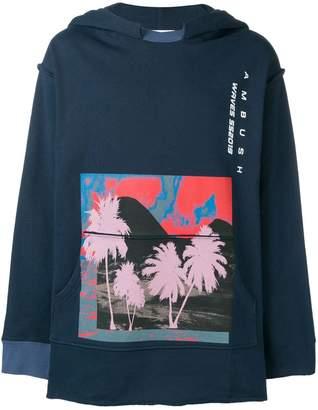 Ambush graphic print hoodie