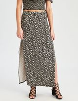 American Eagle Outfitters AE Printed Maxi Skirt