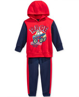 Nannette Baby Boys' 2-Pc. Colorblocked Race Hoodie & Pants Set