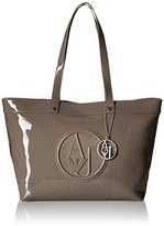 Armani Jeans Eco Patent Tote Bag