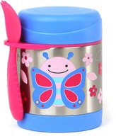 Skip Hop Zoo Little Kids & Toddler Stainless Steel Insulated Food Jar, Blossom