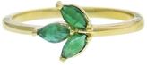 Finn Emerald Leaf Ring