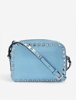 Valentino Rockstud leather cross-body camera bag