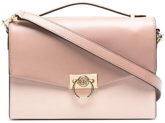 Michael Kors Collection Hendrix leather satchel