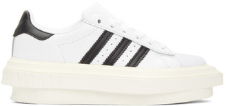 adidas White Beyonce Knowles Edition Superstar Sneakers