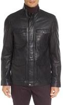 Ted Baker Men's Force Leather Jacket