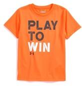 Under Armour Toddler Boy's Play To Win Heatgear T-Shirt