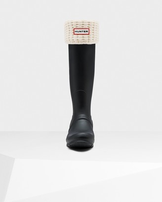 Hunter Waffle Cuff Tall Boot Socks