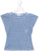 Douuod Kids - lightweight striped T-shirt - kids - Linen/Flax/Viscose - 12 yrs