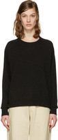 Isabel Marant Black Clash Open Back Pullover