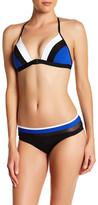 Jets Spliced T-Back Bikini Top