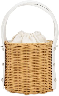 Wicker Wings Exclusive Quan Rattan Bucket Bag