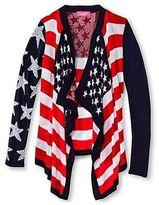 Say What Girls' Americana Cardigan