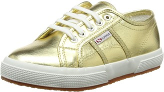Superga Unisex Kids' 2750-cotmetj Trainer Shoes - Silver (Silver) 5 UK