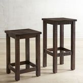 pier 1 imports parsons tobacco brown backless counter u0026 bar stool